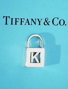 UMWERFEND-Tiffany-amp-Co-Sterlingsilber-NOTEN-Alphabet-034-K-034 ...