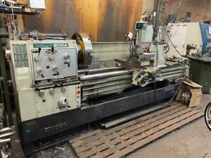 ECOCA Gap Bed Engine Lathe, Model: SJ 2680 G, Year: 2012 Canada Preview