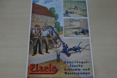 197991) Eisele - Pumpen - Prospekt 09/1956