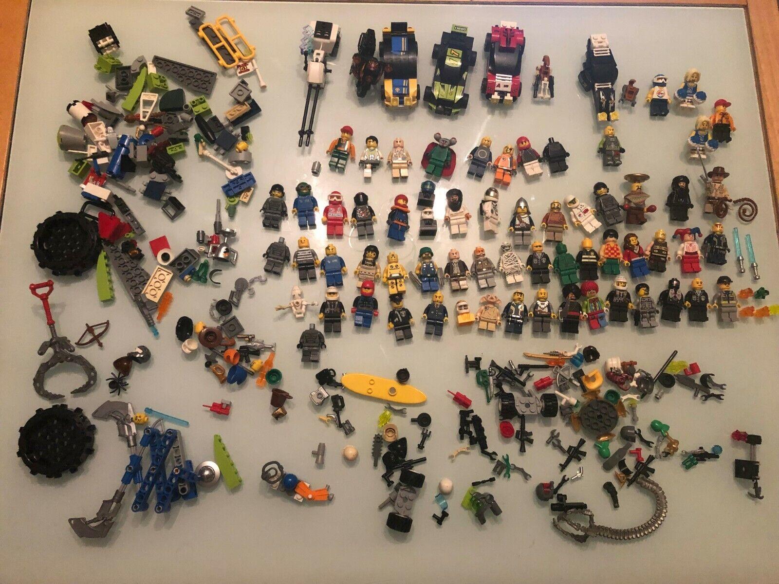 Genuine LEGO MINIcifraS OMINI Accessori Auto Parts Pezzi di Estrella Guerras 600g