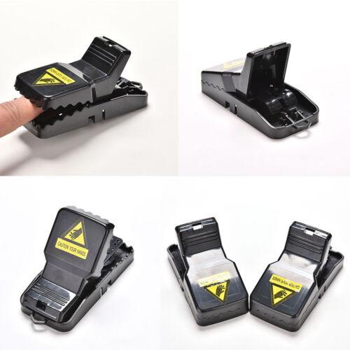 2X Rat Traps Catching Heavy Duty Snap Mouse E Trap-Easy Set//Bait//Pest Catcher WC