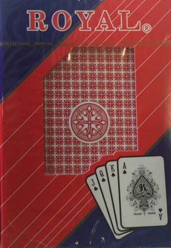 12 Decks Pinochle Playing Cards Standard Index New Sealed Paper Coated $0 Ship