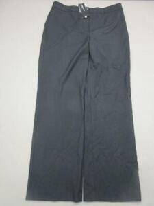 NWT Jones New York Size 12 Womens Black Stretch Relaxed Sloan Dress Pants T904