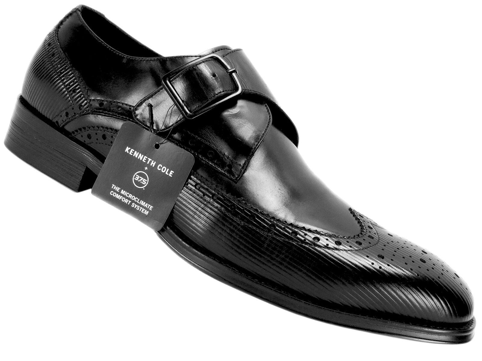 con il 60% di sconto Kenneth Kenneth Kenneth Cole New York Uomo Design 10384 Dress scarpe nero Leather Dimensione 10.5 M  tutto in alta qualità e prezzo basso