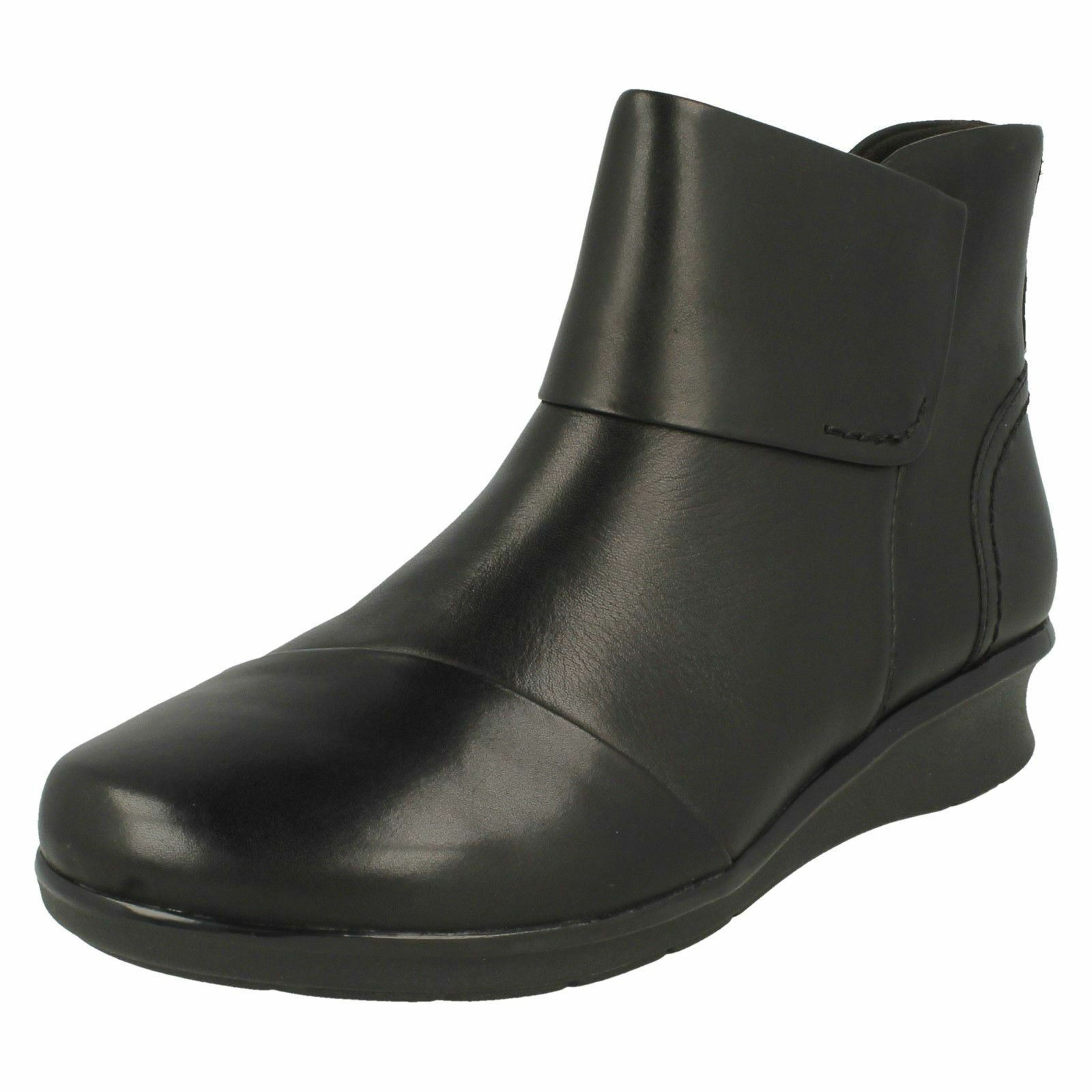 Ladies Clarks Ankle Boots - 'Hope Track'