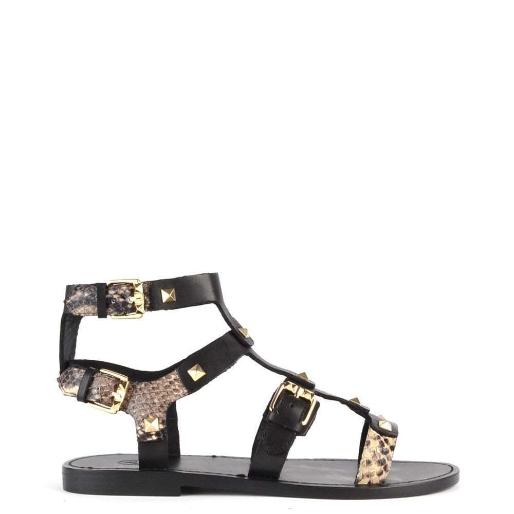 ASH Footwear MAROCCO nere e roccia BORCHIATO BASSE SANDALI SANDALI SANDALI 09c355