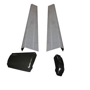 Sierra Silverado Extended Cab 3 Door Rocker Panels And Cab Corners 1999 2000 Ebay