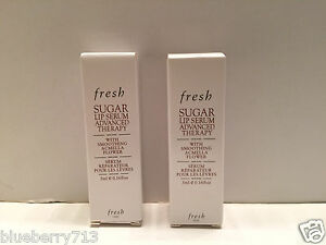 Lot-of-2-Fresh-Sugar-Lip-Serum-Advanced-Therapy-with-Smoothing-Acmella-Flower