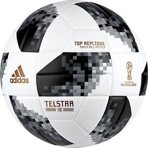df7da0e481e Image is loading Official-World-Cup-2018-Adidas-Telstar-Soccer-Ball-