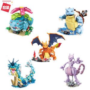 Enlighten Pokemon Venusaur Charizard Blastoise Gyarados Mewtwo Fit Mega Toy