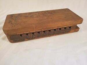 Details About Antique Vintage Primitive Carved Wood Cigar Mold Form Tobacco Press Tampa Fl