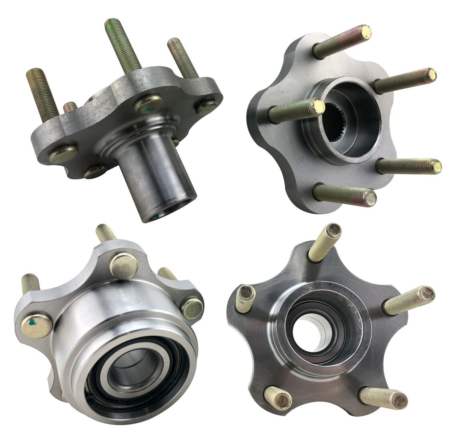 5 Lug Wheel Hub Conversion w//Bearing 4x114.3 to 5x114.3 for 1989-1994 S13 240SX