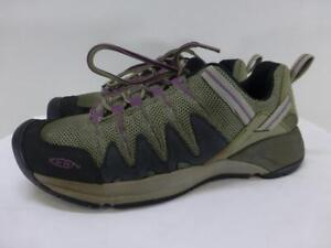 77e86d54d0e8 KEEN Shoes 0507 lace up gray sneakers womens 11 42 rubber toe hiking ...