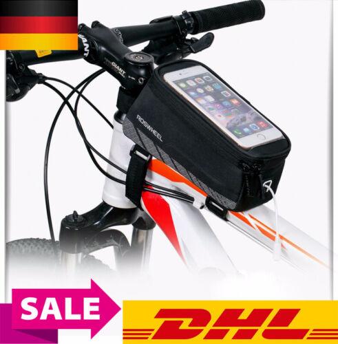 Fahrrad Tasche Rahmentasche Handy Oberrohrtasche Smartphone Halterung Bike Bag
