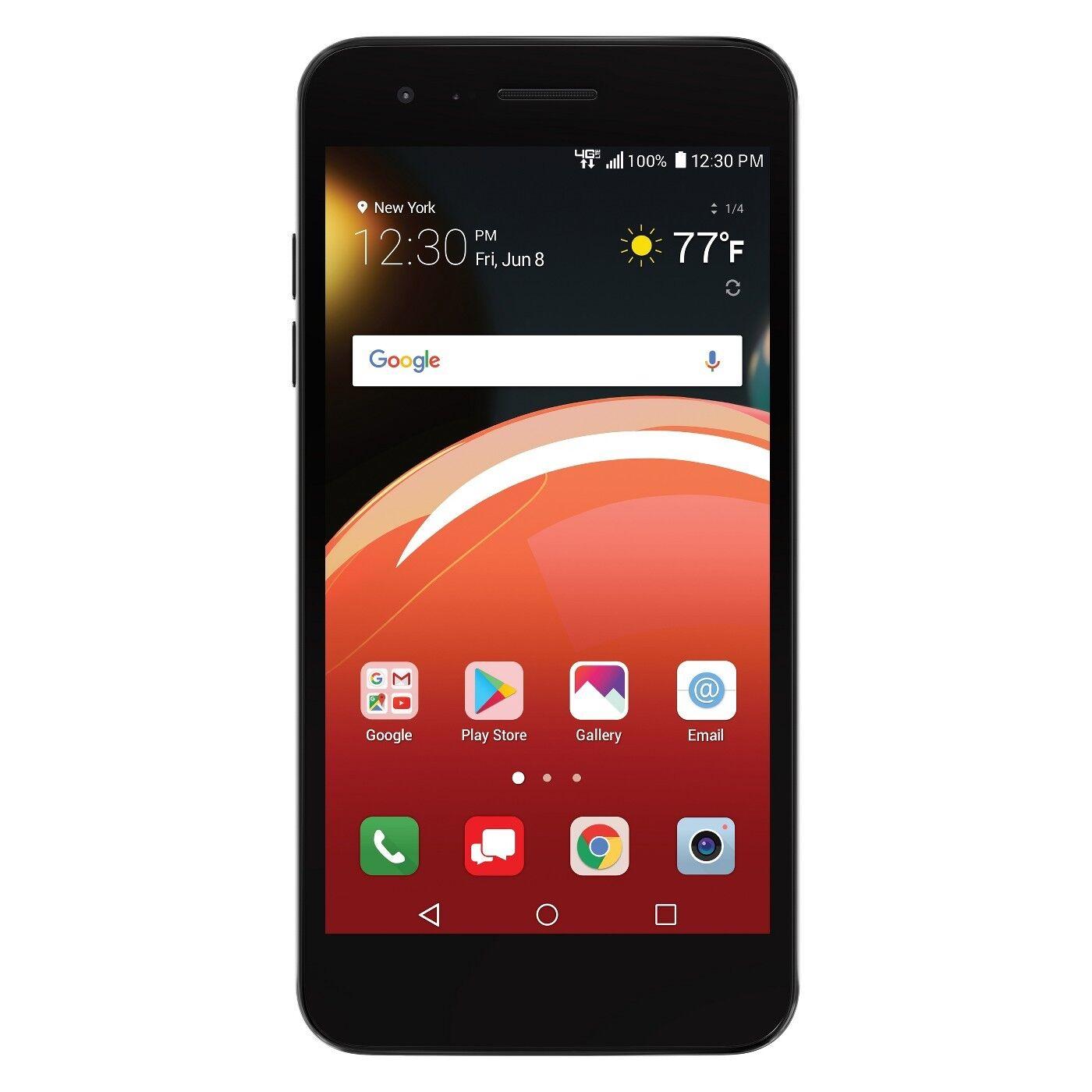 LG LM-X210VPP Zone 4 16GB Verizon Prepaid Smartphone - Moroccan Blue