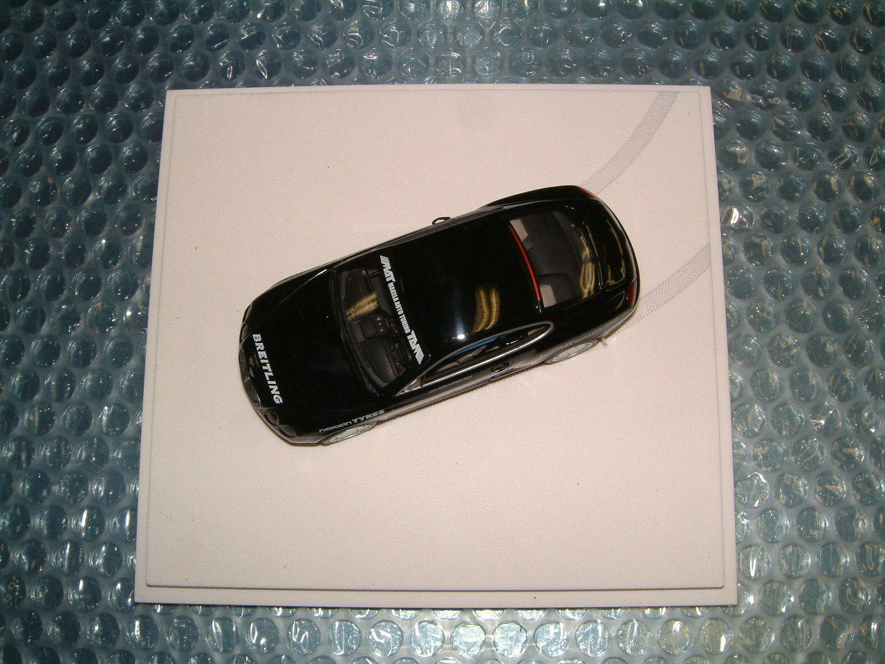 BENTLEY 1 43 SCALE LIMITED DIE CAST 2008 CONTINENTAL CONTINENTAL CONTINENTAL GT WORLD RECORD HOLDER NIB 4c3e19