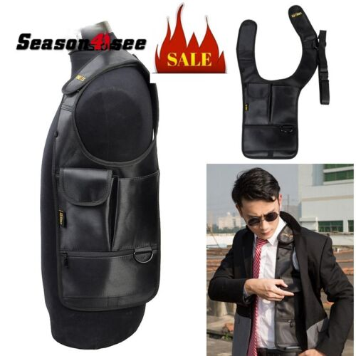 Anti-Theft Hidden Underarm Shoulder Bag Phone Holster Inspector  Left Shoulder