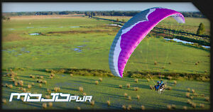 Details about Ozone Mojo Pwr Power Glider for Paramotoring, PPG, Powered  Paraglider