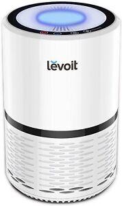 Levoit Luftreiniger Air Purifier mit H13-Filter entfernt 99.97% Partikel Weiß