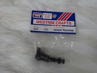 Vintage Westrim Crafts Item In Package Vintage Telephone Candlestick Style 8212