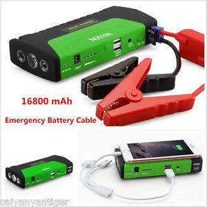 Emergency battery charger car