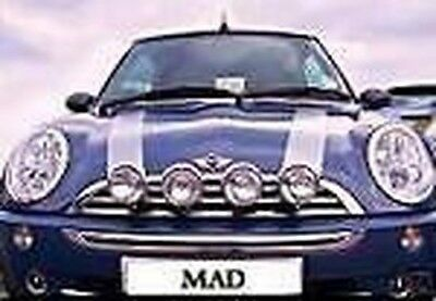 BMW Mini Wipac Spot Lights 2 Lamp Full Kit Chrome S6055