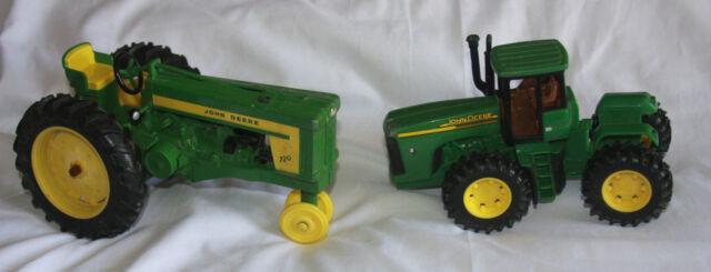 Metal Toy Tractors >> Details About 2 John Deere Metal Toy Tractors 720 8 7