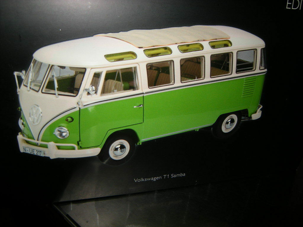 1:18 Schuco VW t1 Samba Bus n. 450028600 IN SCATOLA ORIGINALE