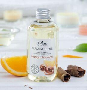 KANU NATURE HOME SPA VEGAN     Massageöl Duft Orange Chocolate Hochwertiges Öl