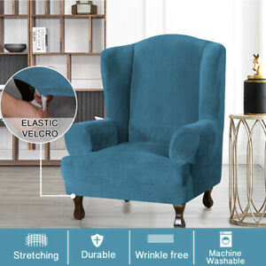 43-039-039-Stretch-Wingback-Armchair-Cover-Wing-Chair-Slipcover-Sofa-Elastic