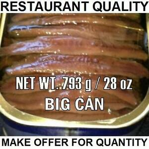BIG-Anchovy-can-793gr-28oz-Restaurant-Quality-ANCHOVIES-FLAT-FiILLETS-IN-OIL
