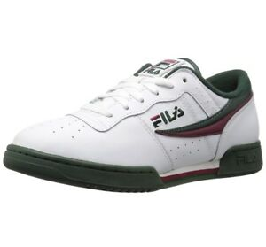 best authentic c6943 5cb30 Image is loading FILA-ORIGINAL-FITNESS-WHITE-SYCAMORE-RED-11F16LT-157-