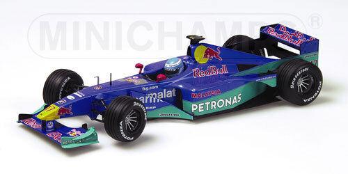 Minichamps rouge Bull Sauber Petronas C19 2000 1 18  17 Mika Salo (FIN)