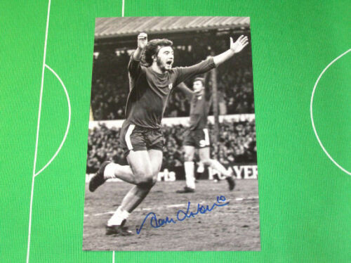 Chelsea Alan Hudson Signed Goal Celebration Photograph