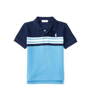 4b17704fa347 Ralph Lauren Baby Boys  Striped Cotton Mesh Polo Shirt 9 Months …