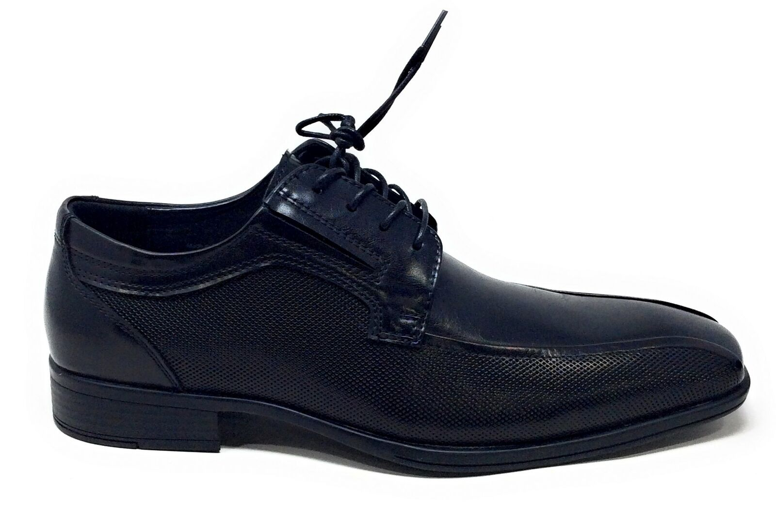 Kenneth Cole REACTION Mens Graham LACE UP B Oxford Black Size 7.5 M US