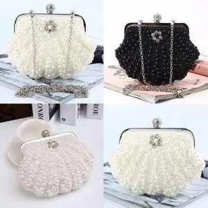 Crystal-Handbag-Seashell-Departments-Clutches-Evening-Bags-Mini-Hard-Shell