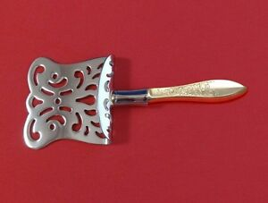 White-Paisley-by-Gorham-Sterling-Silver-Petit-Four-Server-HHWS-Custom-Made-6-034
