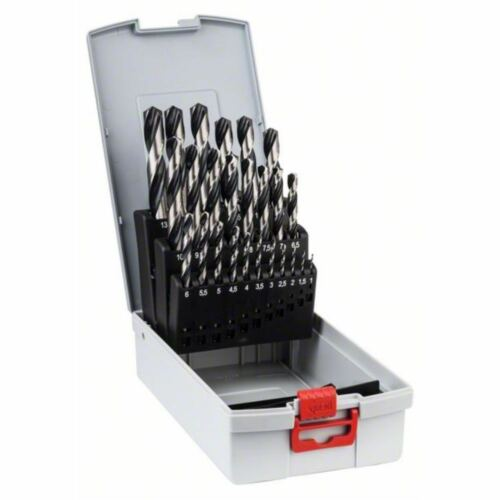 Bosch Metallspiralbohrer-HSS-Set PointTeQ DIN 338 25-teilige ProBox