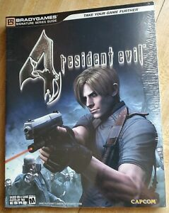 Resident Evil 4 Poster Official Strategy Game Guide Ps2
