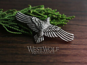 Flying raven pendant vikingnorsemedievalcrownecklacesilver image is loading flying raven pendant viking norse medieval crow necklace aloadofball Choice Image