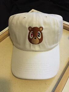 Image is loading Kanye-West-Graduation-College-Dropout-Bear-Dad-Hat- d144904c58d