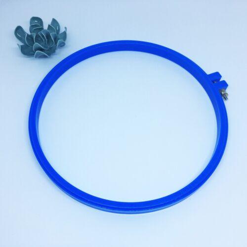 cercle à broder rond en plastique 18 cm 22 cm ou 26 cm Cadre tambour broderie