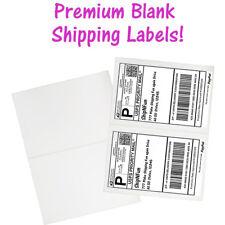 Usa Premium Self Adhesive Shipping Labels 85x11 Half Sheet Mailing Ups Fedex