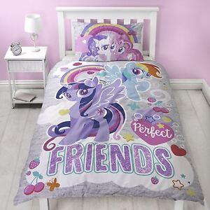 My-Little-Pony-Crush-Panneau-Simple-Set-Housse-de-Couette-Literie-2-IN-1