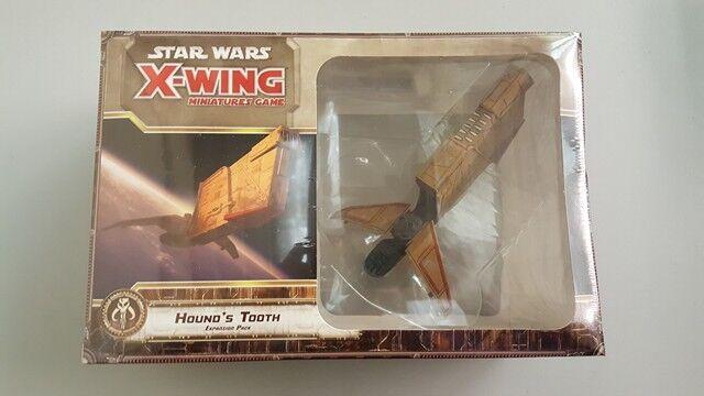 Fantasy Flight Games Star Wars X-Wing Minis Game  Hound's Tooth Expansion BNIB