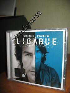 LIGABUE-SECONDO-TEMPO-CD-NUOVO-SIGILLATO-JEWEL-CASE