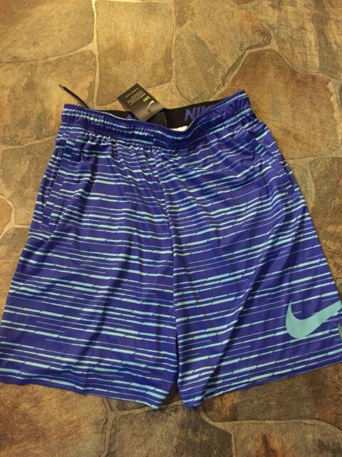 Nike Men/'s Dri-Fit Training Predator Shorts S L XL XXL Green//Dark Blue M