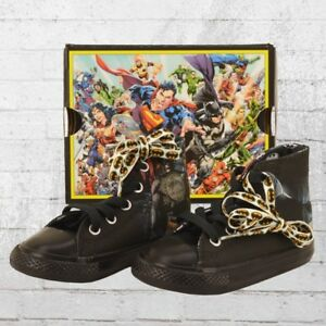 Shoes Show Kids Details About All Dc Black Star Sneakers Comic Original Chucks Converse Batman Title 9IWH2EDY