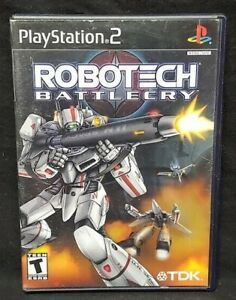 Robotech Battlecry - PS2 Playstation 2 Game Tested Working Complete